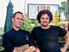 <p>Marc Jacksina (left) and Fabrice Dinonno, LuLu </p>