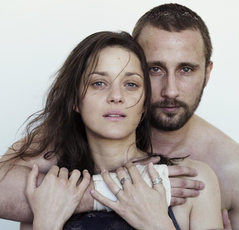 Marion Cotillard and Matthias Schoenaerts in Rust and Bone (Photo: Sony)