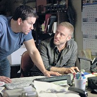 Mark Wahlberg and Ben Foster in Contraband