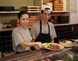 CATALINA KULCZAR - Masami and Hiro Ueno of Mizuho Sushi & Japanese Cuisine