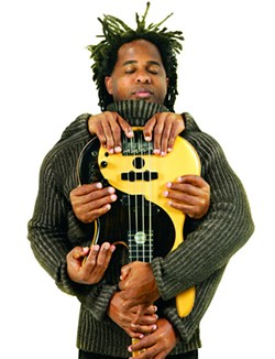 Master bassist Victor Wooten will be at Spirit Square on Sun., Oct. 9