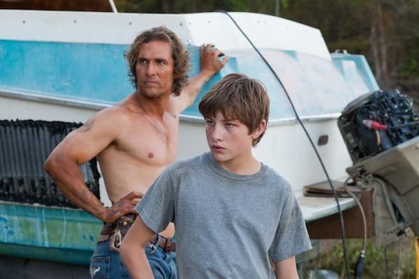 Matthew McConaughey and Tye Sheridan in Mud