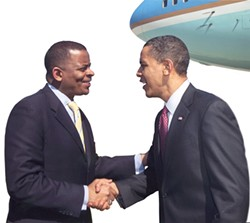 Mayor Foxx and President Obama may be the big symbols of change for Charlotte and the DNC, but there are other key African-Americans behind the scenes helping to make history.