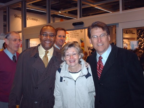 Mayor Pat at the IKEA grand opening on Feb. 18, 2009
