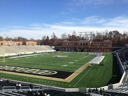 WIKIPEDIA - McColl-Richardson Field holds about 15,000 fans, more than half of all UNC Charlotte alumni in the Queen City.