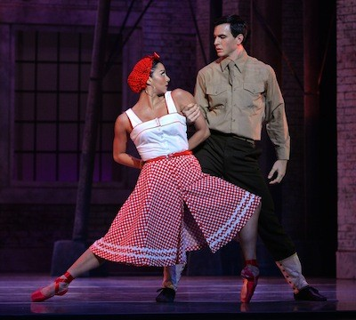Melissa Anduiza and Naseeb Culpepper in Carmen.
