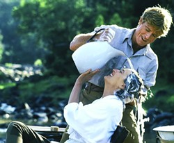UNIVERSAL - Meryl Streep and Robert Redford in Out of Africa