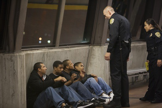 Michael B. Jordan (second from left) in Fruitvale Station (Photo: The Weinstein Company)