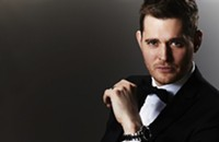Michael Bublé at Time Warner Cable Arena tonight (10/26/2013)