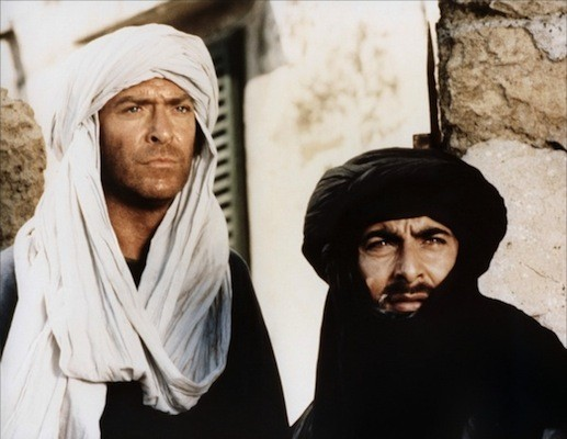 Michael Caine and Kabir Bedi in Ashanti (Photo: Severin)