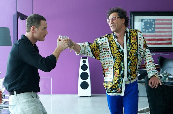Michael Fassbender and Javier Bardem in The Counselor (Photo: Kerry Brown / Fox)