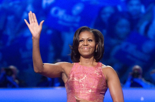 Michelle Obama, mom-in-chief