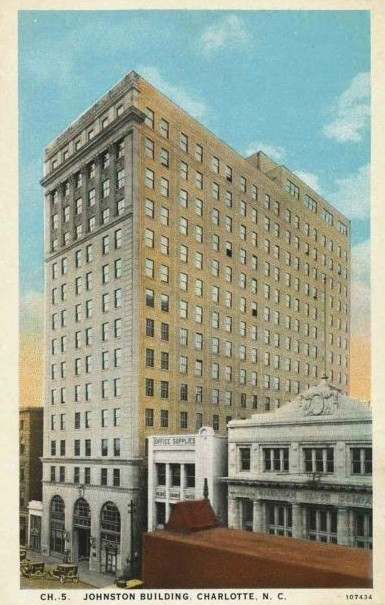 Midtown Plaza, originally known as the Johnston Building, was built in 1924.