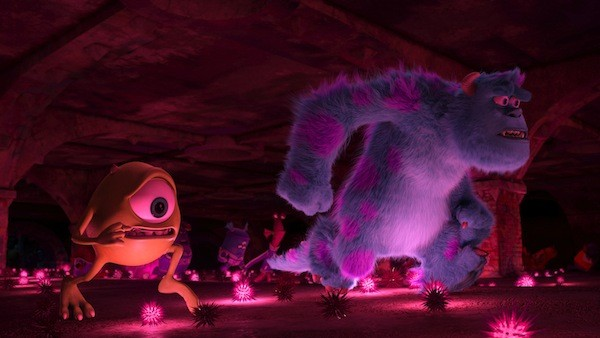 Mike Wazowski (Billy Crystal) and Sulley (John Goodman) in Monsters University (Photo: Disney/Pixar)