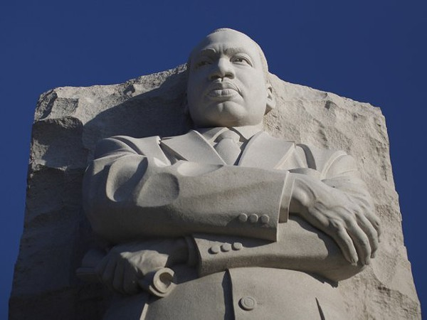 MLK Jr. statue in Washington, D.C., looks like MLK Jr.
