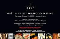 Moet Hennessy tasting at Mez
