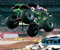 Monster Jam rumbles into Charlotte Bobcats Arena on Fri-Sat., Jan. 6-7