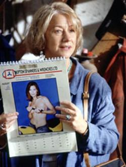 JAAP BUITENDIJK / BUENA VISTA - MONTHLY BASIS Helen Mirren comes up  with an - unusual idea for a fundraiser in Calendar Girls