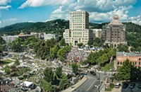 5,000 at Asheville Moral Monday protests