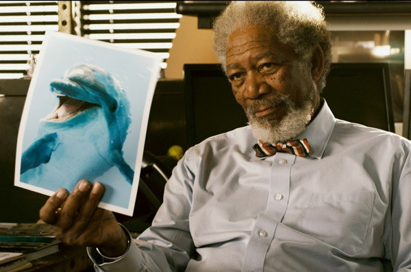 Morgan Freeman in Dolphin Tale