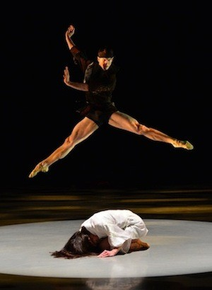 Naseeb Culpepper & Jamie Dee in Mark Diamonds Zokusuru. Photo by Peter Zay