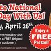 National Pretzel Day is Sunday