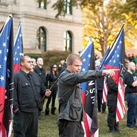 National Socialist Movement rally, 11/10/12