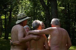 JARED NEUMARK - Naturists frolicking