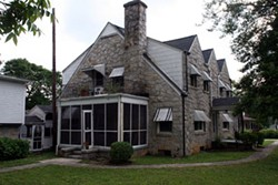 Nazareth House, in Raleigh, is a Catholic Worker hospitality home for families of death-row inmates - SCOTT LANGLEY