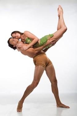 JEFF CRAVOTTA - NC DANCE THEATRE Sasha Janes and Rebecca Carmazzi
