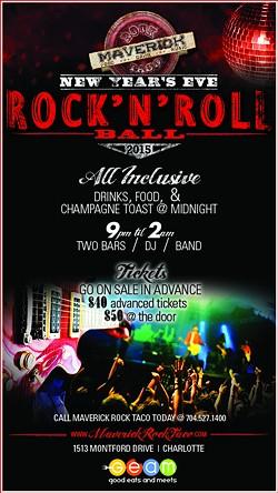 GOOD EATS AND MEETS - New Year's Eve Rock 'N' Roll Ball at Maverick Rock Taco!!!