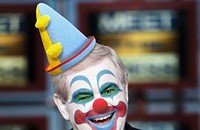 Most of Newt Gingrich's (aka Newty the Clown) Twitter 'followers' are fakes