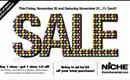 Niche's winter sale starts today