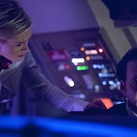Nicky Whelan and Nicolas Cage in Left Behind (Photo: Stoney Lake Entertainment)