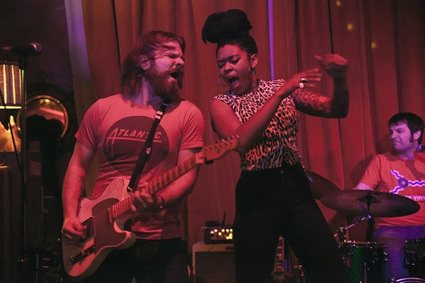 Nikki Hill and guitarist Matt Hill.