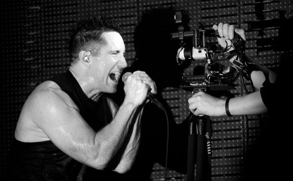 Nine Inch Nails at PNC Music Pavilion on Aug. 7.
