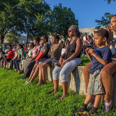 #NMOS14 rally in Marshall Park, 8/14/14