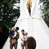 Enemy to Fashion designer brings tepee to the city