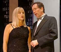 TOM COVINGTON - NOT QUITE RIGHT: Eve White and Mike Collins in Rodgers & Hart: A Celebration