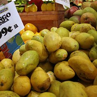 NOT-SO STRANGE FRUIT: Mangos at Compare Foods