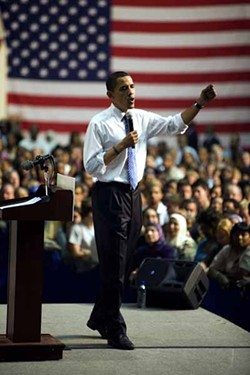 ANGUS LAMOND - OBAMA: Can he fight GOP slime?