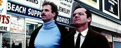 COURTESY OF THE CRITERION COLLECTION - OH, BROTHERS: Bruce Dern and Jack Nicholson in The King of Marvin Gardens