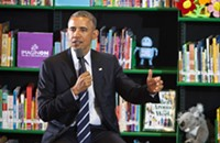 Obama visits Queen City with women in mind