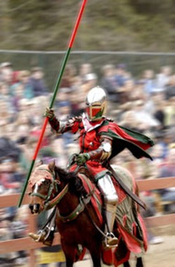 OH, WHAT A KNIGHT Jousting at the Carolina - Renaissance Festival