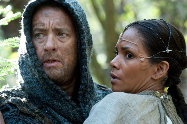 OLD SOULS: Tom Hanks and Halle Berry in Cloud Atlas (Photo: Warner Bros.)