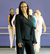 <p>ON POINTE: Ayisha McMillan, principal of the NC Dance Theatre's School of Dance</p>