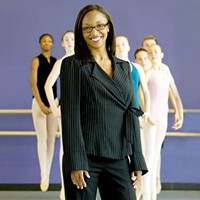 Principal dancer: Ayisha McMillan at NC Dance Theatre's School of Dance