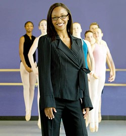 ANGUS LAMOND - ON POINTE: Ayisha McMillan, principal of the NC Dance Theatre's School of Dance