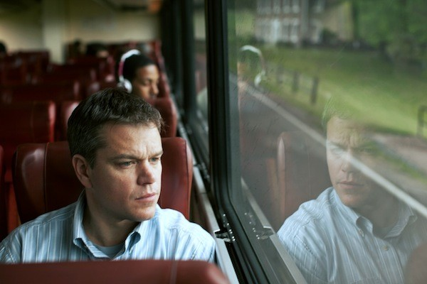 ON REFLECTION: Steve Butler (Matt Damon) is about to have a crisis of conscience in Promised Land. (Photo: Focus Features)