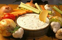 Onion dip without mix